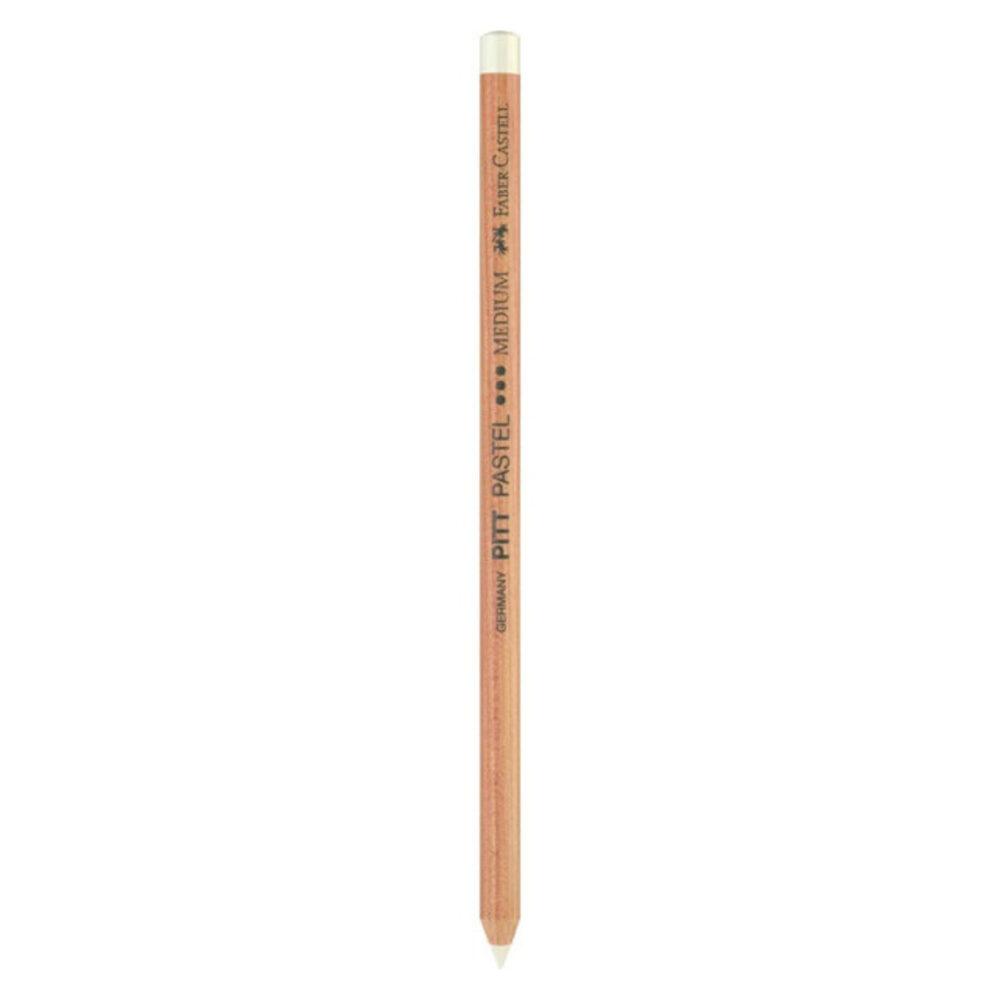 قلم باستل أبيض