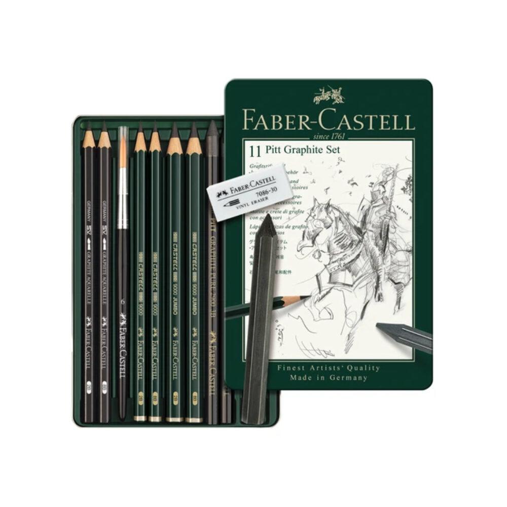 Faber-Castell Pitt Graphite Set, 11er