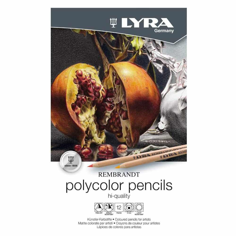 LYRA Rembrandt Polycolor Art Pencils Set of 12