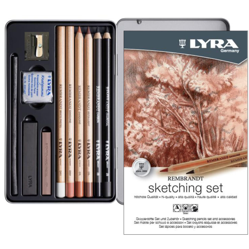 lyra sketching set 11 pieces