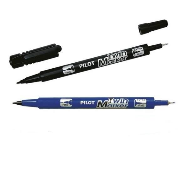 InkedTwin Marker Marker Pen Black Begreen Extra Fine Fine Tip 4