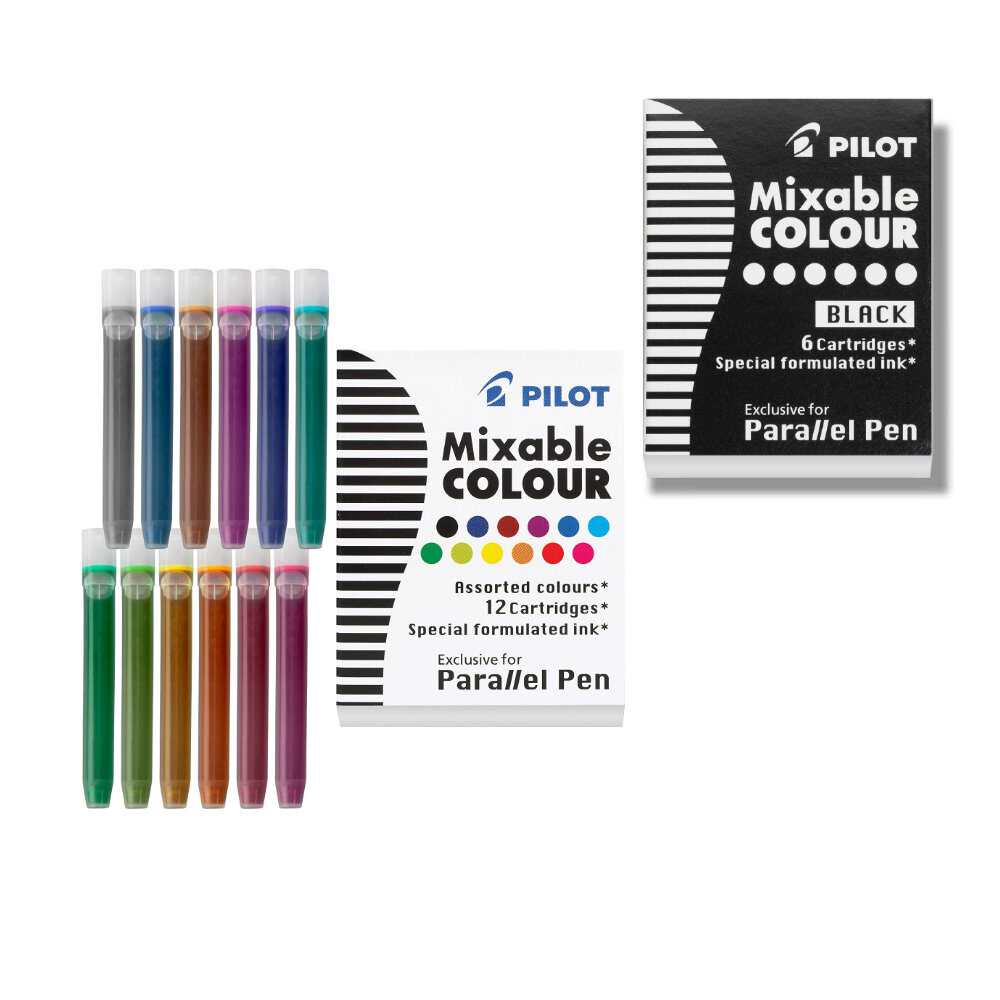 PILOT Parallel Ink Refills for Calligraphy Pens
