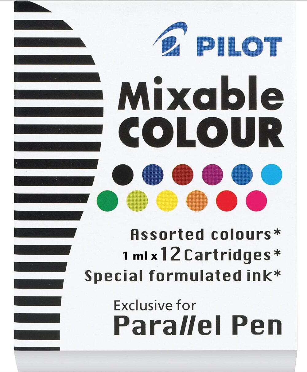 PILOT Parallel Mixable Color Ink Refills for Calligraphy Pens