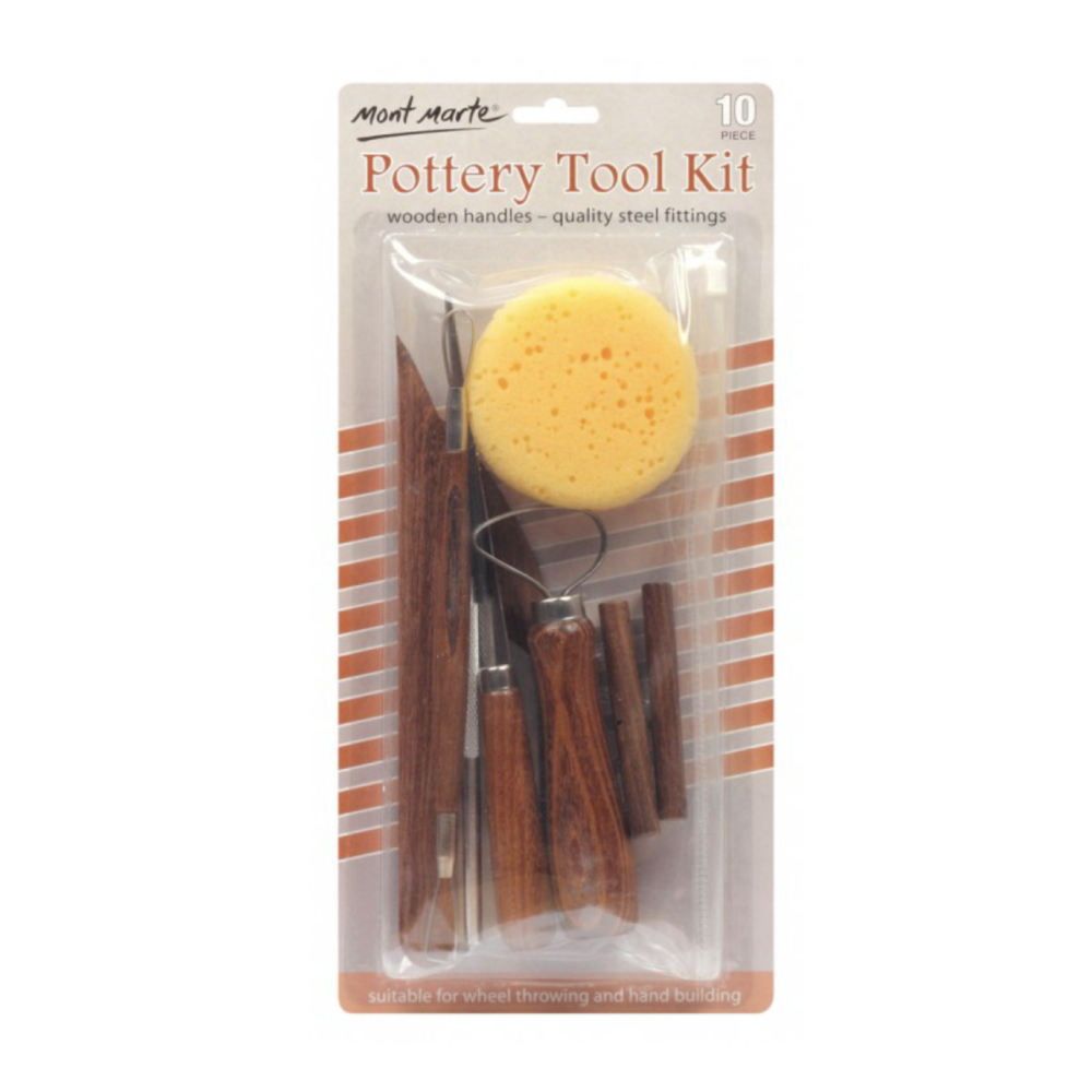 Pottery Tool Kit 10 pcs
