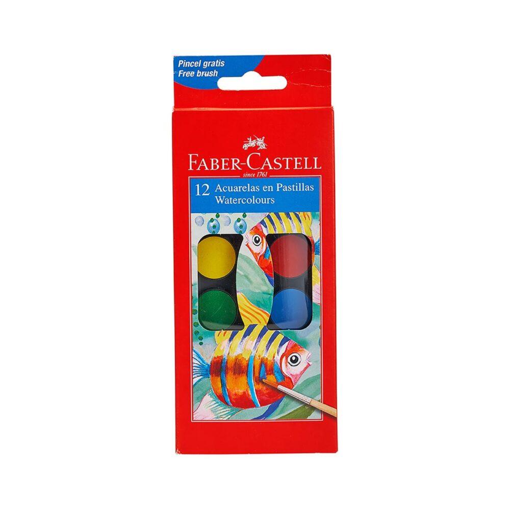 Paint box of 12 colours