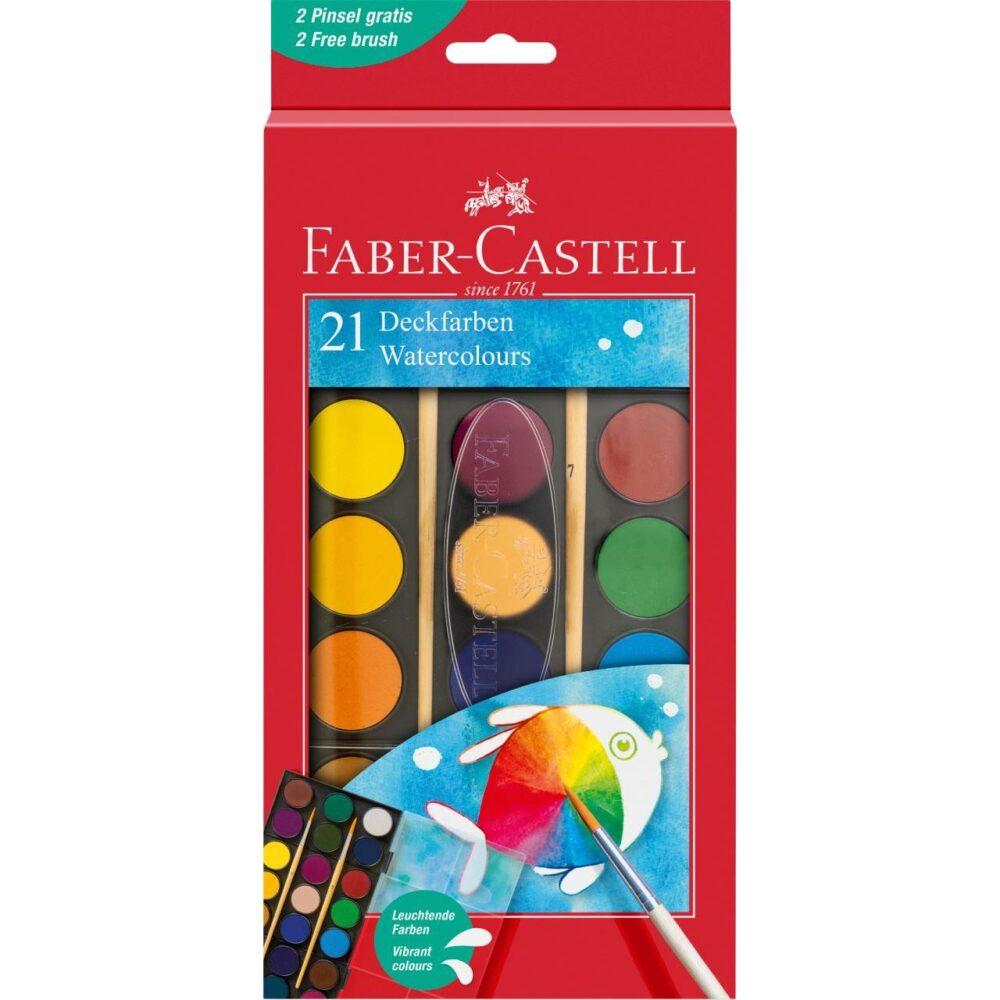 Watercolour paint box 21